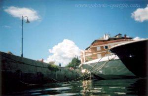 Volosko from the sea